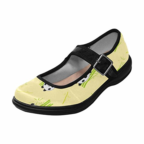 Comfort Mary Flats InterestPrint Jane Womens Shoes Multi 4 Casual Walking C5xnqBwv7