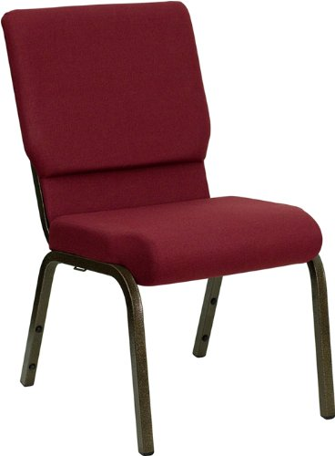 Hercules Church Chair (Flash Furniture 4-Pack Hercules Series Stacking Church Chair with Burgundy Fabric,)