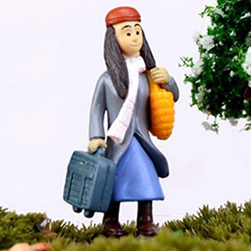 Figurines Miniatures - Ornaments Couples Fancy Miniature Micro Landscape Fairy Garden Figurines Crafts - Figurines Miniatures People Figurines Miniatures Bride Groom Cake Topper Fancy Chine]()