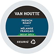 Van Houtte French Roast Decaf Recyclable K-Cup Coffee Pods, 24 Count For Keurig Coffee Makers