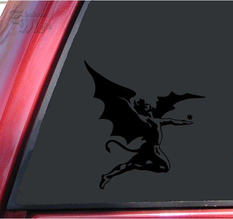 Fallen Sticker (Black Sabbath's Fallen Angel Vinyl Decal Sticker (6
