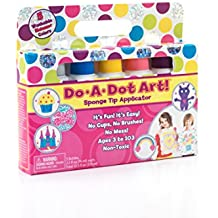Do A Dot Art! Markers 5-Pack Shimmer Washable Paint Markers, The Original Dot Marker