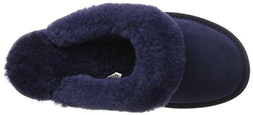 Emu Jolie Femme Australia midnight Talon Ouvert Bleu À Blue Chaussons prWrvA15Fq