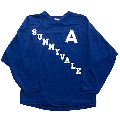 King's Road Trailer Park Boys Sunnyvale Hockey Jersey - Bubbles,Blue,XX-Large ()