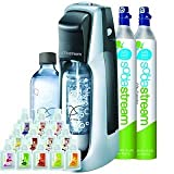 Sodastream Fountain Jet Soda Maker Starter Kit + Extra SodaStream 60-Liter Carbonator-Spare Cylinder