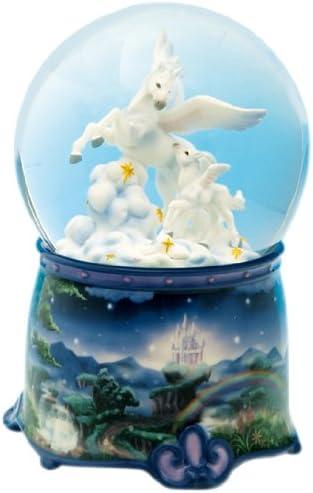 Spieluhrenwelt 25175 - Bola de Nieve Brillante con diseño de Unicornio: Amazon.es: Hogar