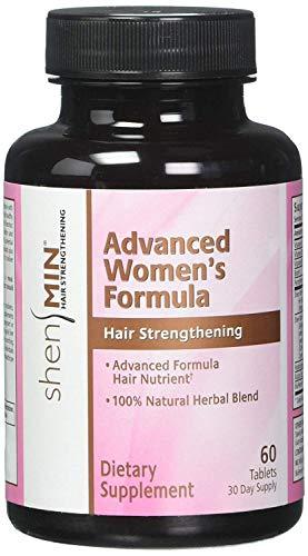 Shen Min Advanced Women Formula Hair Nutrient Tablet - 60 per pack - 2 packs per - Formula Min