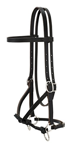 (Weaver Leather Justin Dunn Bitless Bridle)