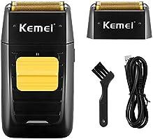 KEMEI Professional Electric Razor for Men Electric Foil Shaver Foil Lithium Titanium Foil Shaver Beard Trimmer...