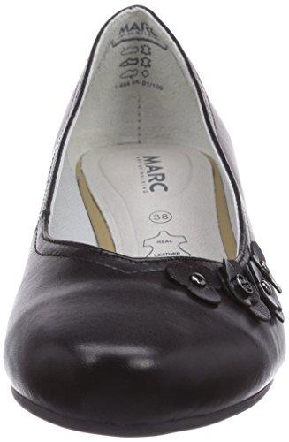 Marc Shoes 1.484.08-01/100-Athena Damen Pumps Schwarz (black 100)