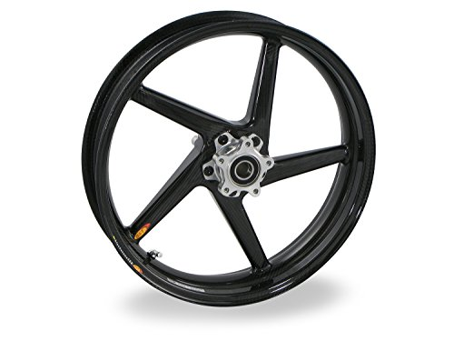 Price comparison product image BST Carbon Fiber Front Motorcycle Wheel(Kawasaki ZX-14 06-19,  ZX-10R 06-15,  ZX-6R / 636R 05-19)