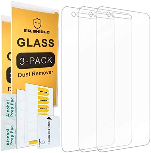 [3-PACK]-Mr.Shield For LGPhoenix4 [Tempered Glass] Screen Protector with Lifetime Replacement