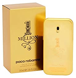 Paco Rabanne 1 Million By Paco Rabanne For Men Eau De Toilette Spray, 1.7-ounce50 Ml
