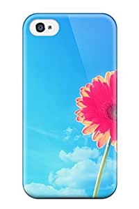 New Arrival Pink Gerbera Flower GtTMsJR1087DCHMW Case Cover/ 4/4s Iphone Case