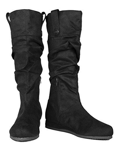 SharpSpirit Medieval Peasant Renaissance Viking Halloween Costume Ninja Jon Snow Mens Boots L -