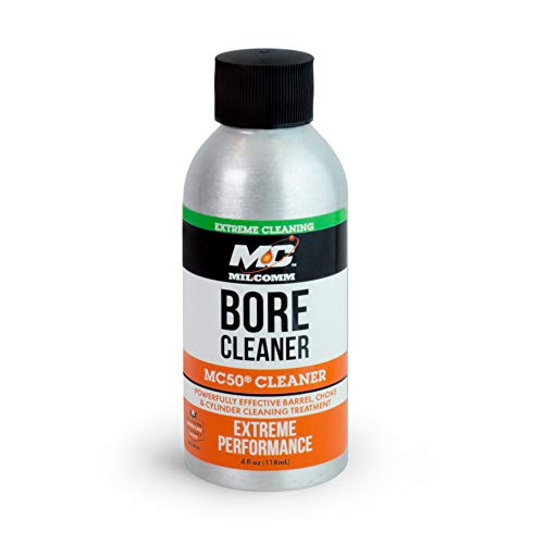 Mil-Comm MC50 Bore Cleaner, Firearm and Gun Cleaner 4-Ounce