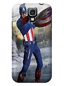 Beauty sincere design tpu skin case cover for Samsung Galaxy s4 of Avengers Captain America in Fashion E-Mall