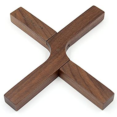 Bamber Hot Pads, Trivet Wood, Heat Resistant and Eco-friendly - Black Walnut