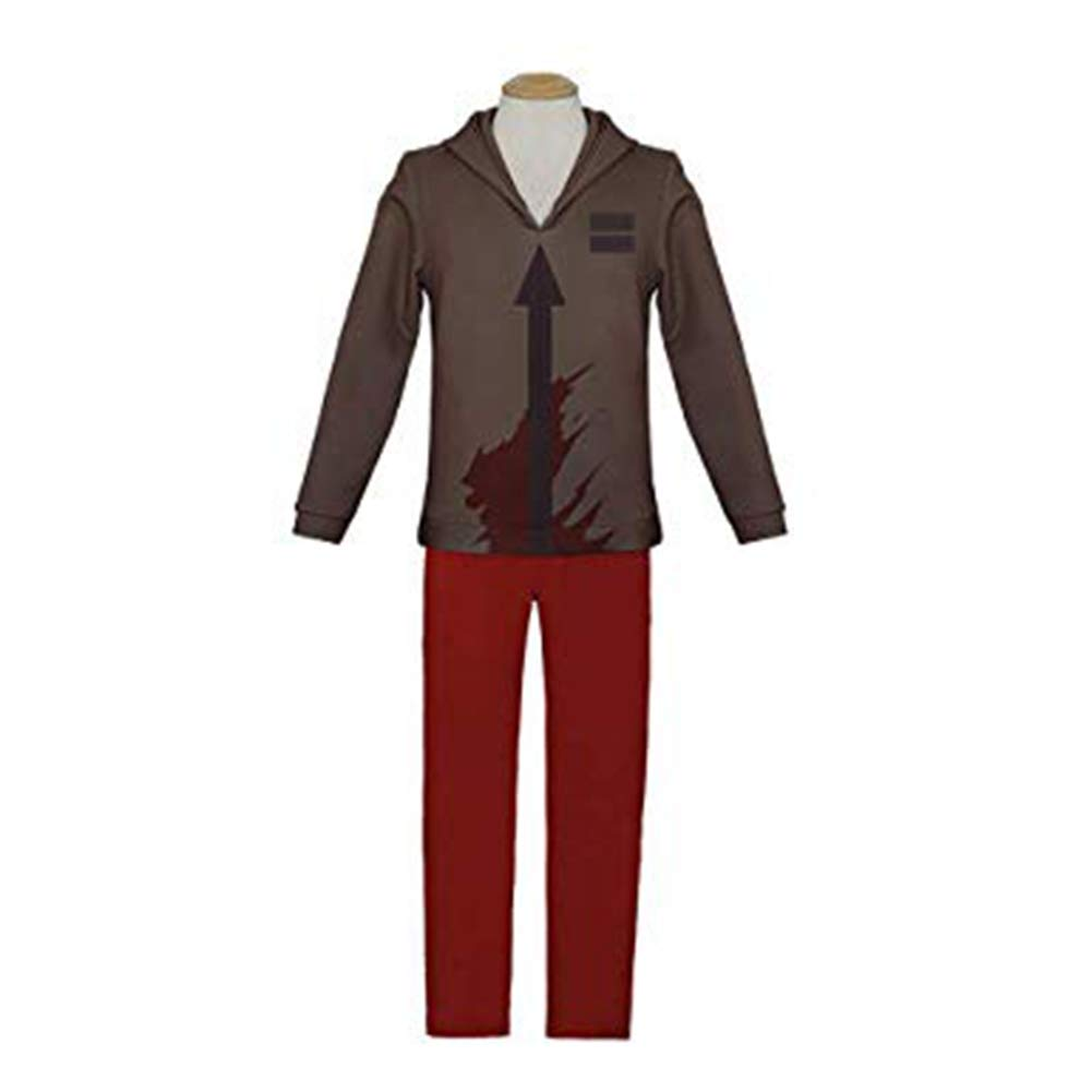 Angels of Death Zack Isaac Foster Cosplay Costume Suit Halloween Cosplay Costume