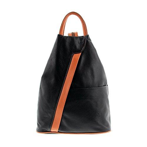 Icone® dos Sac port main à sac à MIO à femme le IO bretelles Borsetta per pour cognac IO en schwarz 7YaxFFwX