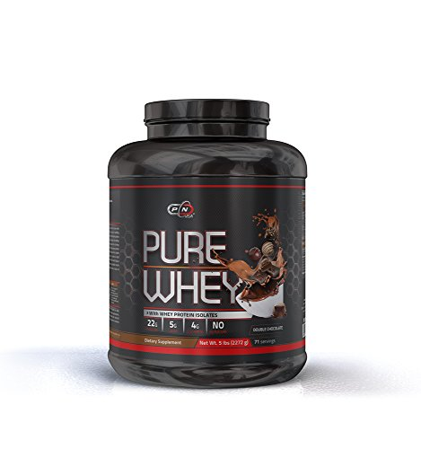 Whey Protein Powder 5 lbs Lean Muscle Micro Ultra Filtrated Mixes Instantly Faster Absorption Over 5g of Glutamine and BCAA 22g of Protein per Serving Low Carb No Aspartame (2.27kg, Double Chocolate) For Sale
