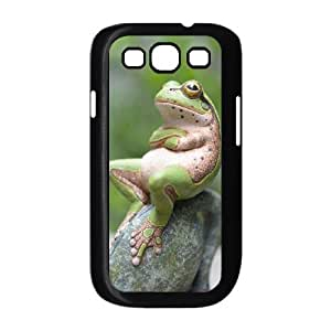 Colorful Frog Shell Phone for samsung galaxy s3 Black Cover Phone Case