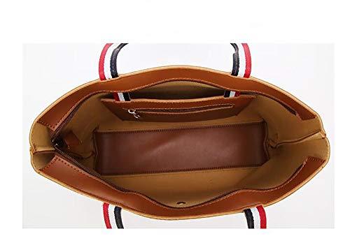fourre La Sacs Mode bandoulière Red 12 à en bandoulière PU Centrale Cuir 34 croisés Sacoche Sacs LIGYM Tout 28cm à d'unité SEqndS