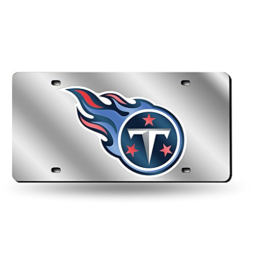 Tennessee Titans Laser License Plate - Tennessee Titans Laser Cut Silver License Plate