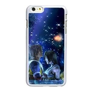 N6R26 Final Fantasy H5E5YS funda iPhone 6 Plus 5.5 pulgadas funda del teléfono celular de cubierta blanca AJ9SIV1LB