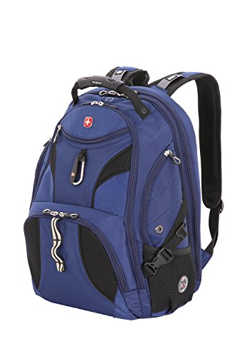 SwissGear SA1923 Rich Navy TSA Friendly ScanSmart Laptop Backpack - Fits Most 15 Inch Laptops and Tablets