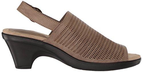 Sandales À Talons Jessie Femme Facile Sandales Taupe