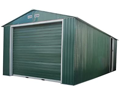 Duramax 50961 Metal Garage Shed with Side Door, 12 by 20-Inch