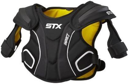 STX Lacrosse Impact Shoulder Pad 黒 Small [並行輸入品]