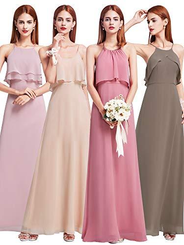 Ever-Pretty Floor Length Flowy Chiffon Bridesmaid Dress 07131