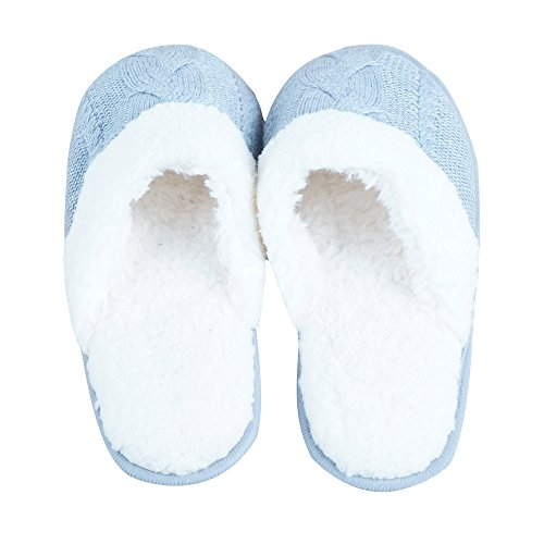 Pantofole Da Donna Iisutas Con Comoda Gomma Piuma Memory, Scarpe Da Casa Per Donna, Pantofole Foderate In Pile Di Lana, Coperta, Suola Antiscivolo Esterna Grigia