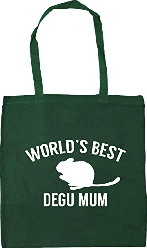 Tote 10 Green Bottle Shopping degu 42cm Bag Beach best x38cm World's litres Gym mum HippoWarehouse qwZPIaP