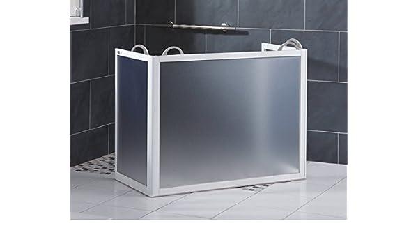 Ayudas dinamicas - Mampara portátil de ducha: Amazon.es: Salud y ...