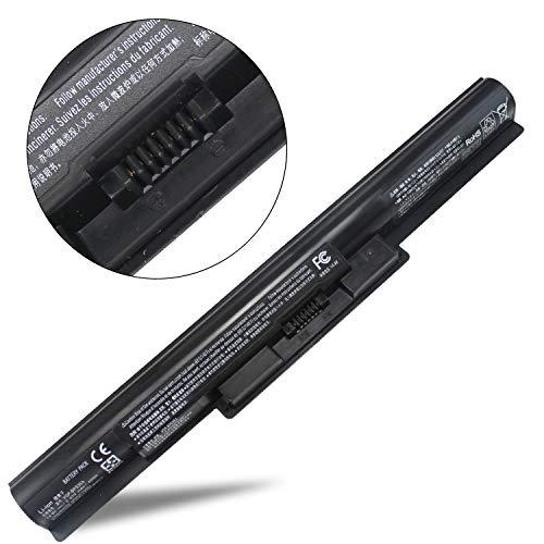(LNOCCIY 14.8V 2670MAH/40WH 4CELL New Laptop Battery VGP-BPS35 VGP-BPS35A for Sony Vaio 14E 15E Series Svf14215sc Svf142c29l Svf14215cxb Svf15216sc Svf15218sc Svf152a25t Svf1521a2e)