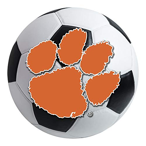 - FANMATS NCAA Clemson University Tigers Nylon Face Soccer Ball Rug
