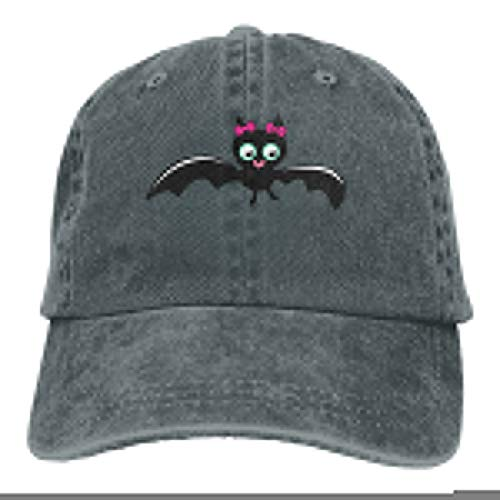 ASDGEGASFAS Baseball Cap Cute Bat Girl Halloween Cotton