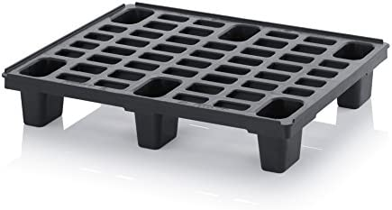 Half Pallet 80 x 60 Light Pallet 80 x 60 Plastic Pallets in 1//2 Euro Pallets with Free Ruler