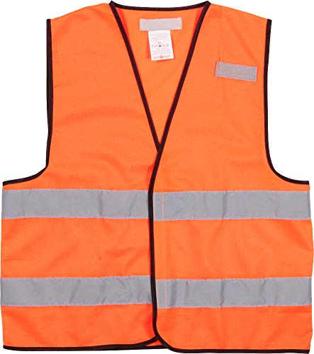 Tear Vest Away Safety (Woodland Supply Co. Men's ANSI Class 2 Reflective High Visibility Safety Work Breathable Tear Away Vest (XX-Large, Orange))
