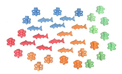 boley-36-pc-animal-sidwalk-chalk-24-street-chalk-bugs-and-12-sharks-makes-the-perfect-party-favor-or
