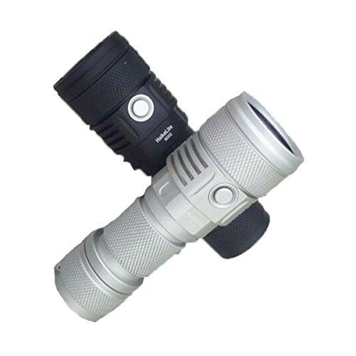SC02 MTG2 5000K 26650 2000LM EDC LED Flashlight (Color Silver)