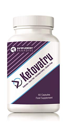 KETOVATRU – Burn Fat – Weight Loss Formula – 1 Month Supply – SUPPLEMENT PARADISE