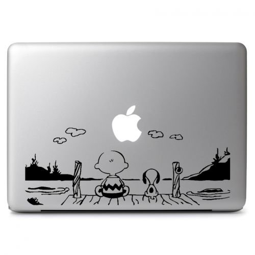 Snoopy Watch the sun Vinyl Decal Sticker Skin, Die cut vinyl decal for windows, cars, trucks, tool boxes, laptops, MacBook - virtually any hard, smooth surface