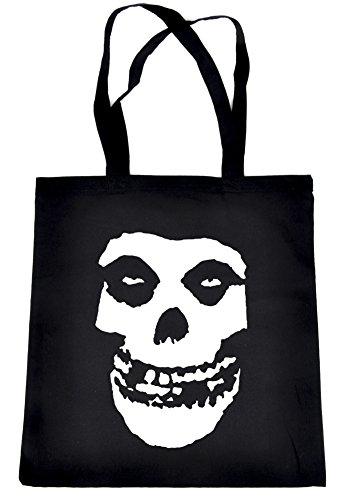 Deathrock Punk Rock Misfits Skull Tote Bag Psychobilly Alternative Clothing Book Bag
