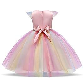 Mädchen Einhorn Kleid Halloween Kostüm