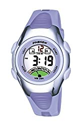 PASNEW Fashion Waterproof Children Boys Girls LCD Digital Sport Watch with Alarm, Chronograph, Date(Purple)