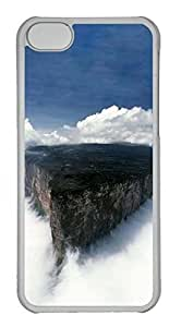 Customized iphone 5C PC Transparent Case - Roraima Cover